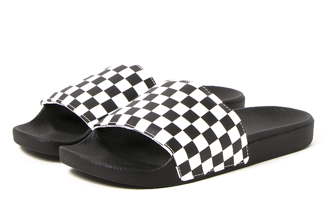 m slide on us7 25 0cm checkerboard white brands billy s online